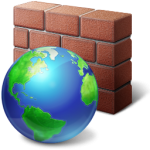 Clipart Image of a Firewall